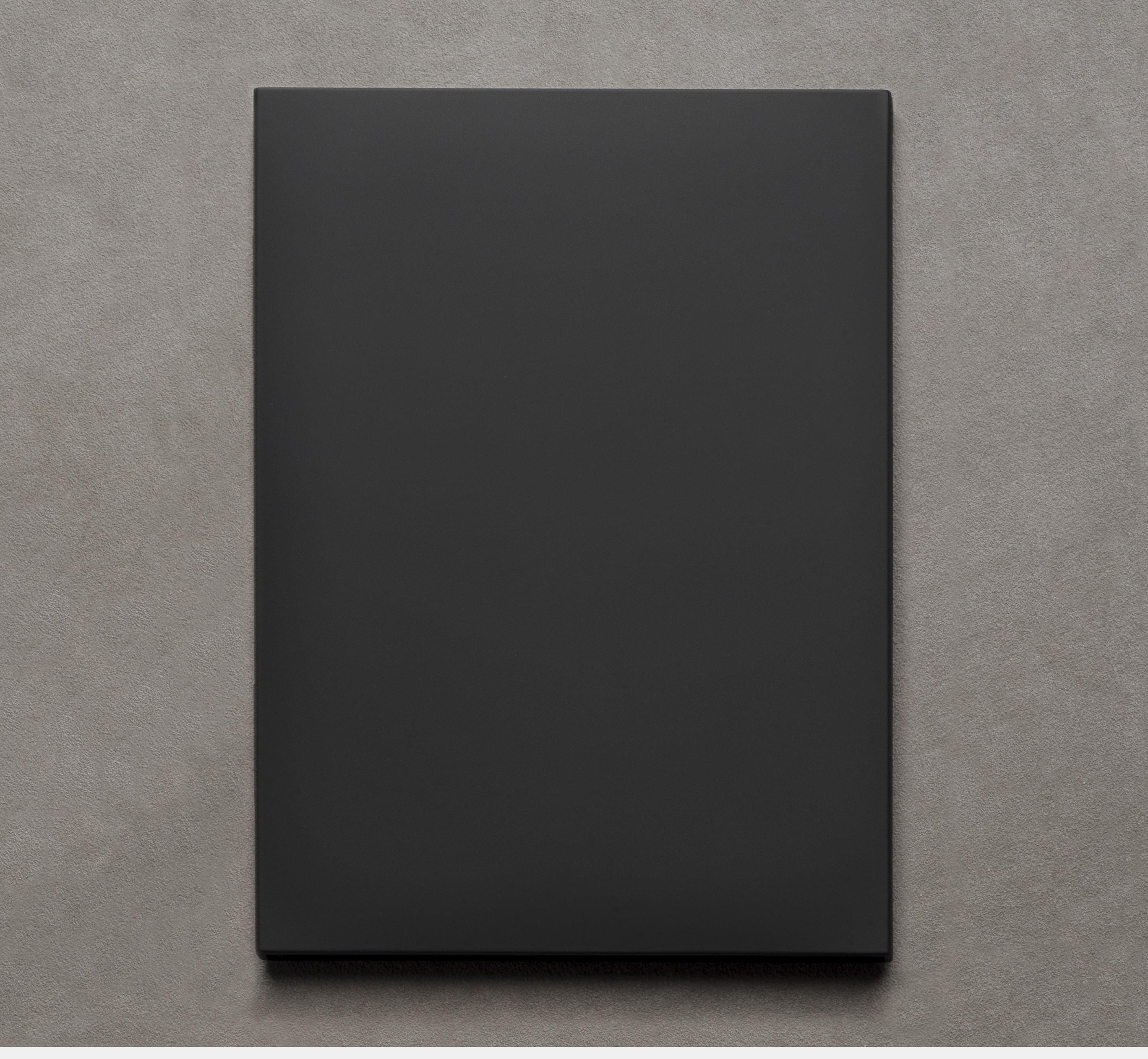 Le Carnet 12.19 Noir mat